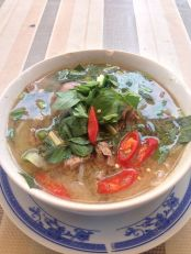 Pho Bo (noodles and beef)