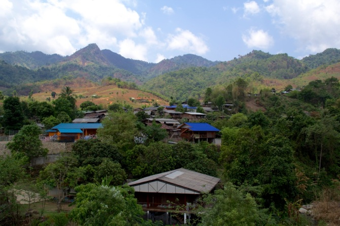 Pai Mountains and Village II