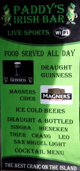 Irish - Everywhere!
