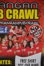 Pub Crawl flyer. I'm wondering how this rule is enforced.