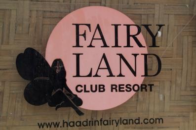 ...surprisingly NOT a gay themed hostel.