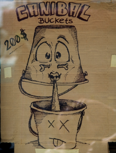 I'll probably come get a bucket here just for this drawing.