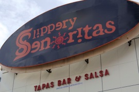 """I'm going to open a Mexican themed strip joint called """"Slippery Senoritas"""" at some point."""