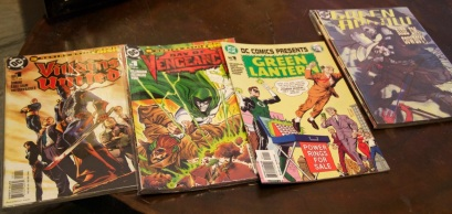 Found a big stack of old comics at the coffee shop - these were some of the ones that stood out.