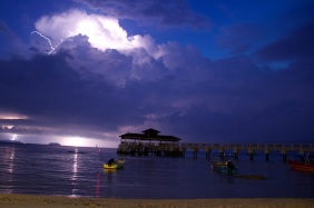 Thunder and...
